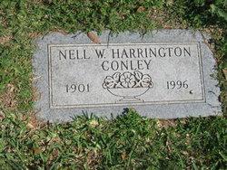 Nell W <i>Harrington</i> Conley