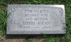 Bertha <i>Goltliel Or</i> Warady