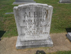 Mary Laura <i>Cranfill</i> Albea