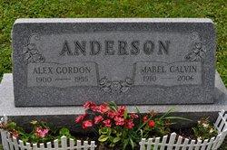 Mabel <i>Calvin</i> Anderson