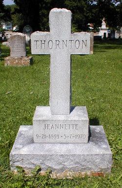Jeannette Thornton