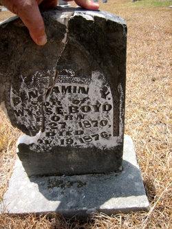 Benjamin Y. Boyd