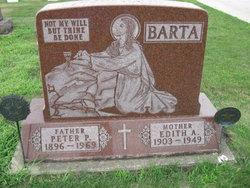Edith A <i>Fisher</i> Barta
