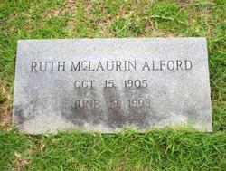 Ruth <i>McLaurin</i> Alford