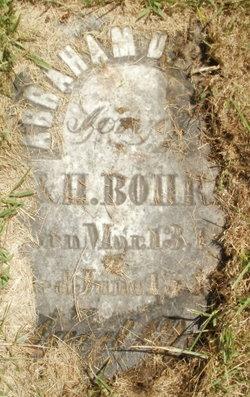 Abraham D. Bohrer