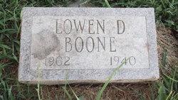Lowen D. Boone