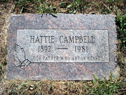 Hattie <i>Chrisman</i> Campbell