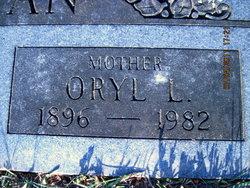 Oryl Lettie <i>Hanson</i> Chrisman