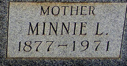 Minnie L. <i>Gardner</i> Adams