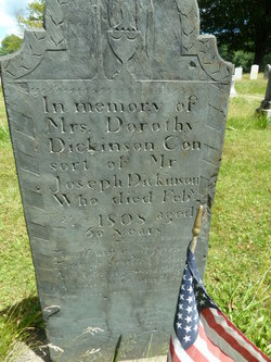 Dorothy <i>Dickinson</i> Dickinson