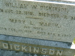 Mary Lyman <i>Marsh</i> Dickinson