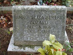 Annie Eliza <i>Butler</i> Bozard