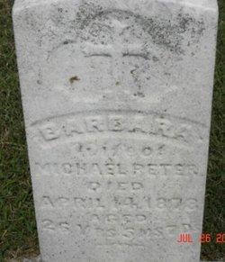 Barbara <i>Berberich</i> Peter