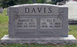 Fannie Hall <i>Bowden</i> Davis