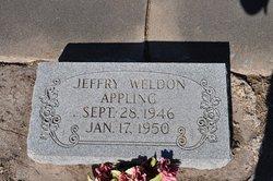 Jeffrey Weldon Appling
