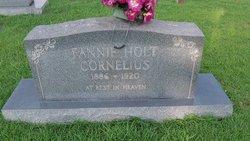 Mary Frances Fannie <i>Holt</i> Cornelius