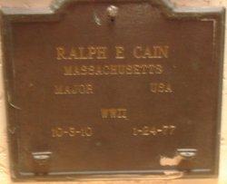 Ralph E Cain
