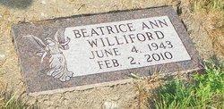 Beatrice A. Bea <i>Albert</i> Williford