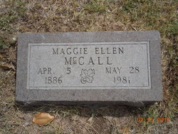 Margaret Ellen Maggie <i>Rainbolt</i> McCall
