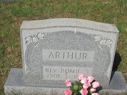 Rev Romie S. Arthur