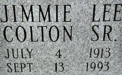 Jimmie Lee Colton