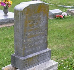 Mary Susanna Mollie <i>Bell</i> Blanton