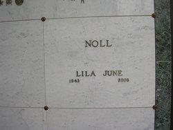 Lila June <i>Raymer</i> Noll
