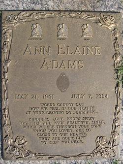 Ann Elaine Adams
