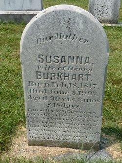 Susanna <i>Huber</i> Burkhart
