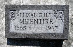 Elizabeth Jane Lizzie <i>Taylor</i> McEntire