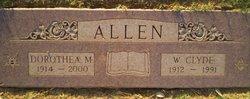 Dorothea M <i>Moore</i> Allen