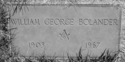 William George Bolander