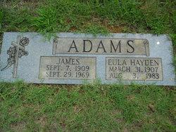 Eula <i>Hayden</i> Adams