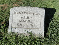Sallie Frances <i>Arthur</i> Gundrum