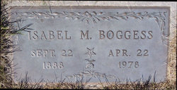 Isabel M Boggess
