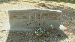 Rev A. L. Baines