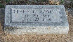 Clara H Bowles