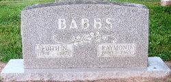 Edith N. <i>Buckner</i> Babbs