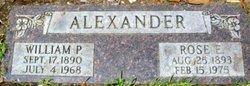 Rose E. <i>Parker</i> Alexander