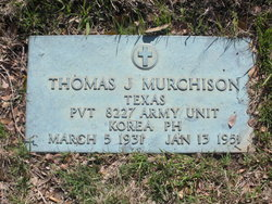 Pvt Thomas J. Murchison