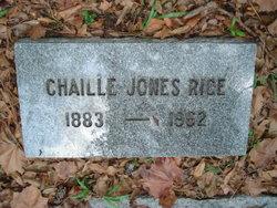 Chaille <i>Jones</i> Rice
