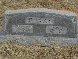Edwin F Gilman