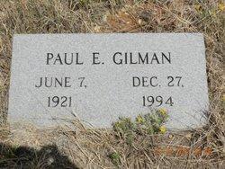 Paul E Gilman