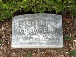 Herbert Hiram Champlin, Sr