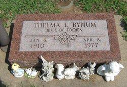 Thelma L. <i>Cunningham</i> Bynum