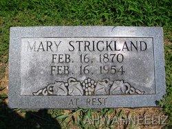 Mary <i>Clark</i> Strickland