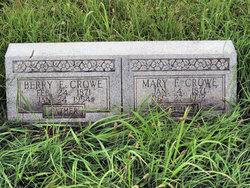 Mary Frances <i>Walton</i> Crowe