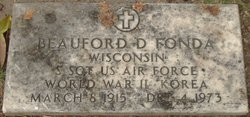 Sgt Beauford D Fonda