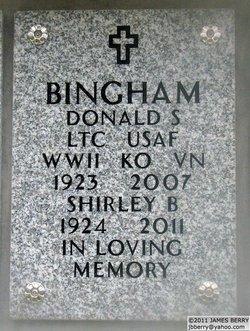 LTC Donald S Bingham