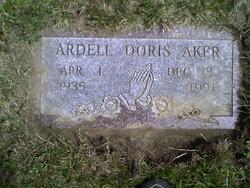 Ardell Doris <i>Brasel</i> Aker